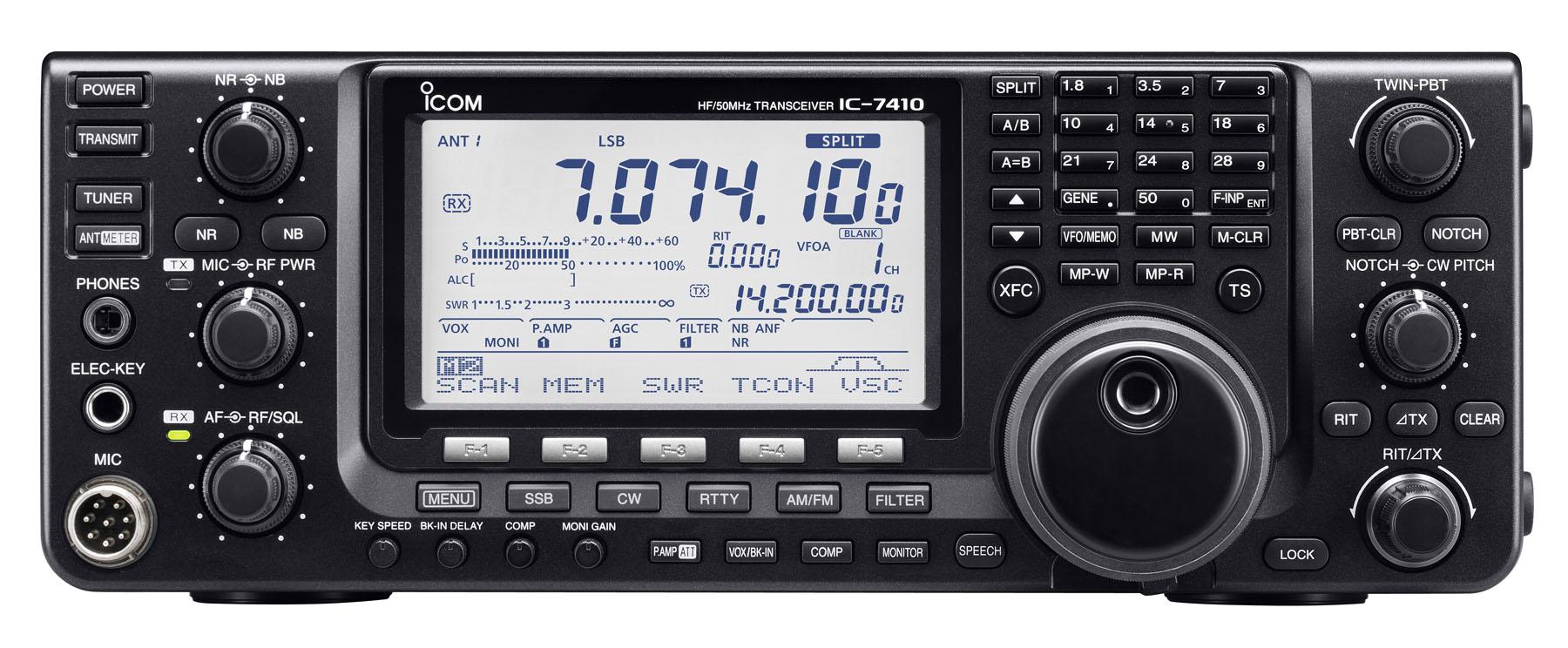 Transceivers Rig Icom 2300h Ic 7410 Hf 50mhz Transceiver